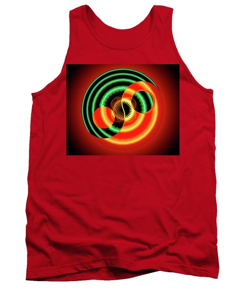 The Yin And The Yang Tank Top by Mario Carini