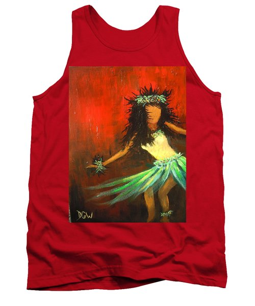 The Young Dancer Tank Top by Dan Whittemore