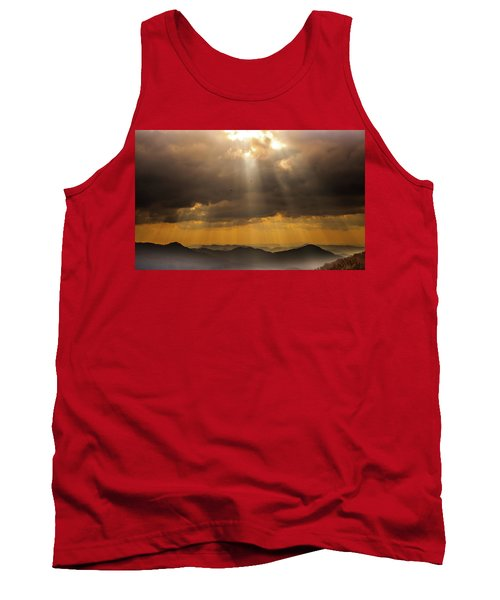 Tank Top featuring the photograph Then Sings My Soul by Karen Wiles