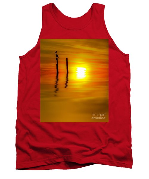 There Are Moments Tank Top by Kym Clarke