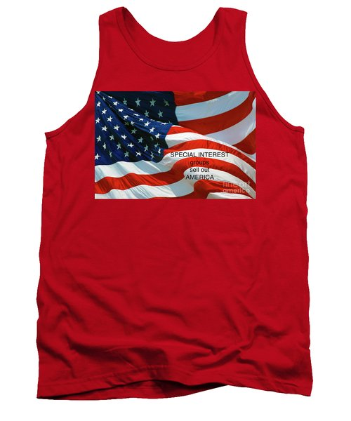 Tank Top featuring the photograph They Sell Us Out by Paul W Faust - Impressions of Light