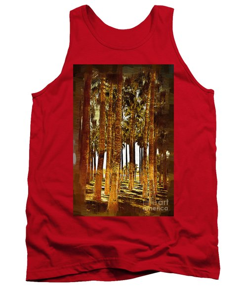 Thick Palm Trees Tank Top