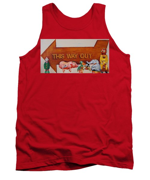 This Way Out Tank Top by Jean Cormier