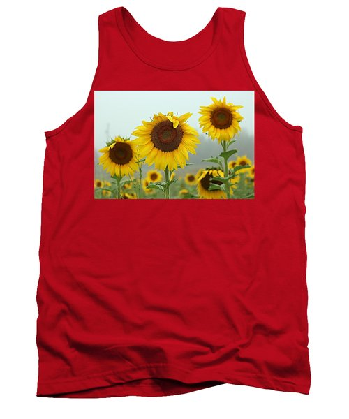 Three Amigos In A Field Tank Top