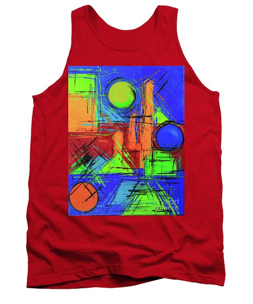 Three Moons Tank Top by Jeanette French