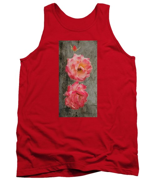 Three Roses Tank Top by Dale Stillman