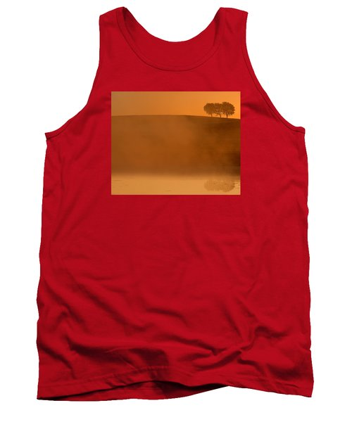 Three Trees  Tank Top by Don Spenner