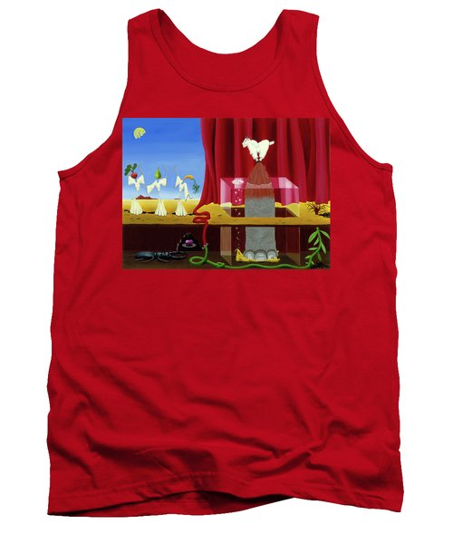 Three Twisted Dancers Tank Top