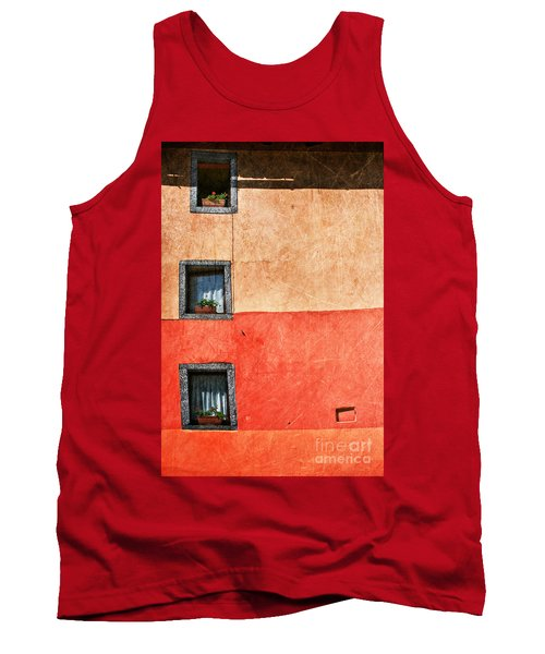 Three Vertical Windows Tank Top