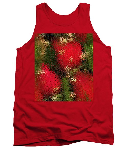 Strawberries Behind  The Glass Tank Top by Maciek Froncisz