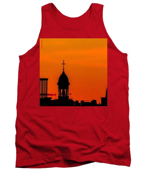 #throwbackthursday #fire In The #sky Tank Top