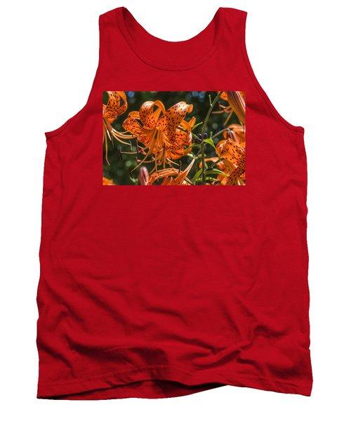 Tiger Lilies In The Sun Tank Top