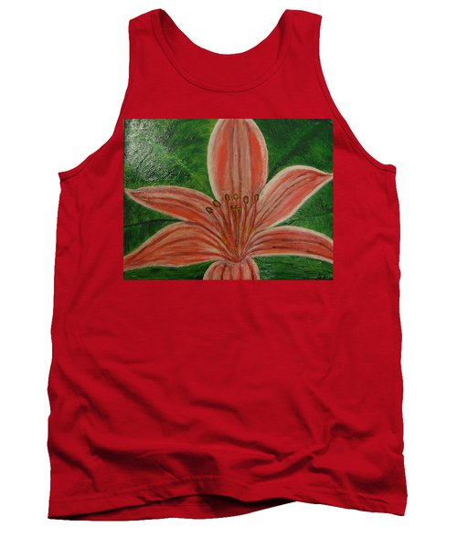 Tiger Lilly Tank Top by Barbara Yearty