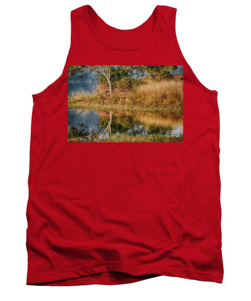 Tigerland Tank Top by Pravine Chester