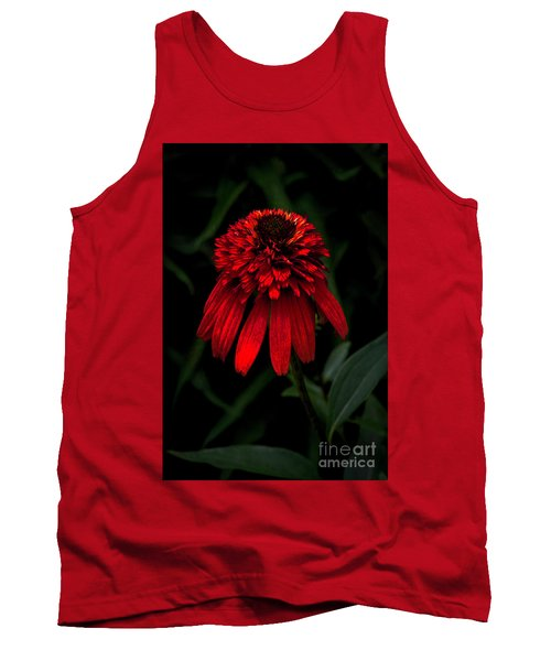 Tank Top featuring the photograph Tiki Torch by Judy Wolinsky