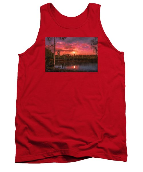 Tank Top featuring the painting Time Of Grace by Rose-Maries Pictures