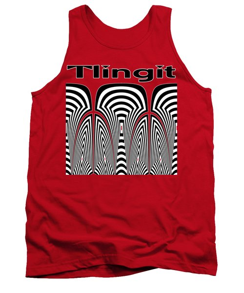 Tlingit Tribute Tank Top by Methune Hively