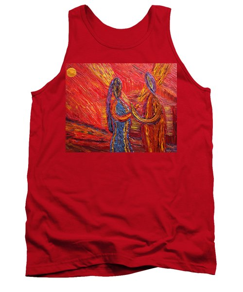 To Be My Second Self... Tank Top by Vadim Levin
