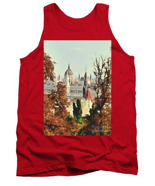To Budapest With Love Tank Top