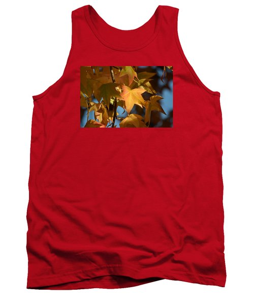 To Me Is Fun It Feels Like Fall.  Tank Top by Alex King