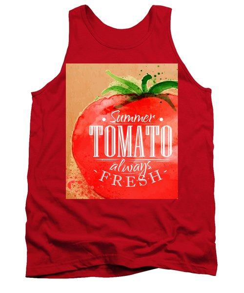 Tomato Tank Top by Aloke Creative Store