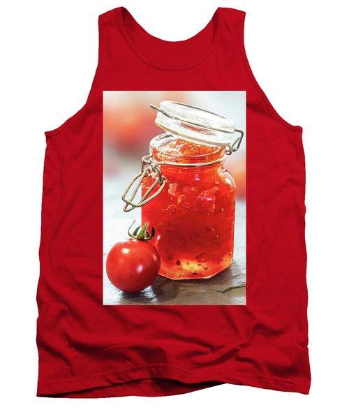 Tomato Jam In Glass Jar Tank Top