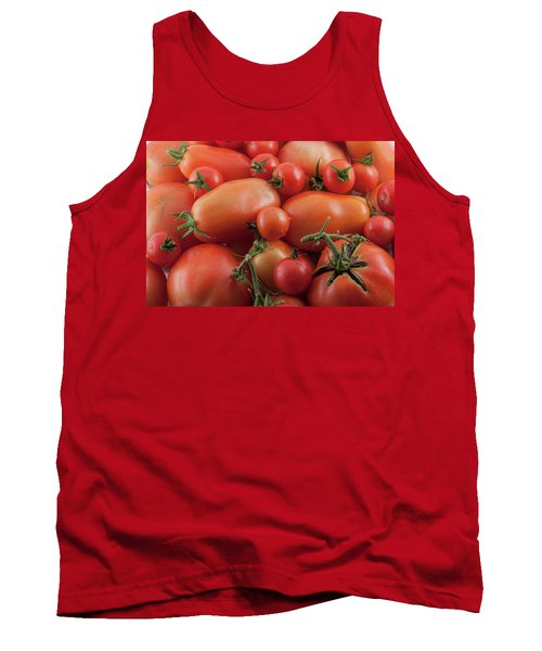 Tank Top featuring the photograph Tomato Mix by James BO Insogna