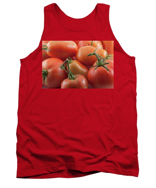 Tank Top featuring the photograph Tomato Stems by James BO Insogna