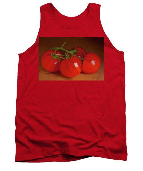 Tomatoes 01 Tank Top by Wally Hampton