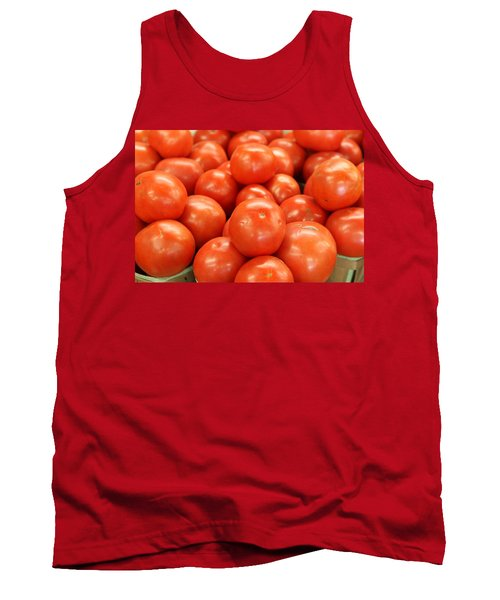 Tomatoes 247 Tank Top by Michael Fryd