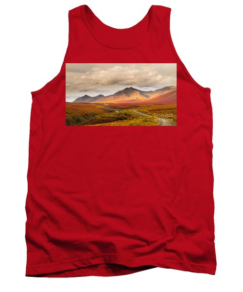 Tombstone Territorial Park Yukon Tank Top by Rod Jellison