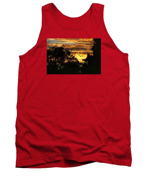 Tank Top featuring the photograph Tomorrow Land by Joan Bertucci