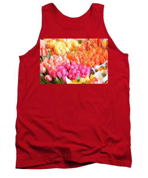 Tons Of Tulips Tank Top