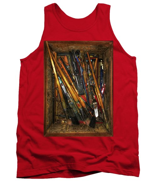 Tools Of The Painter Tank Top
