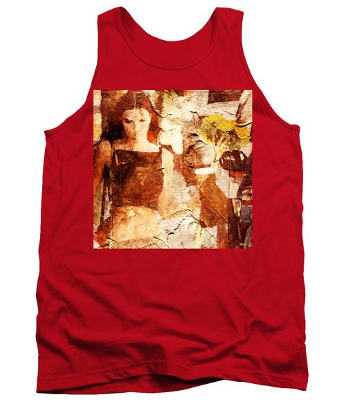 Top Tank And Sunflower Tank Top