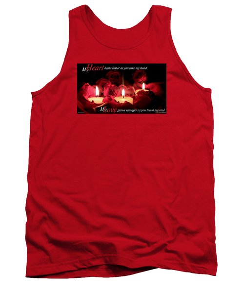Tank Top featuring the photograph Touch My Soul by David Norman