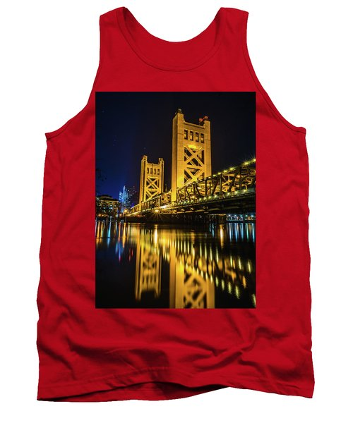 Tower Reflections Tank Top by Alpha Wanderlust