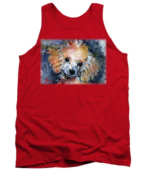 Toy Poodle Shirt Tank Top