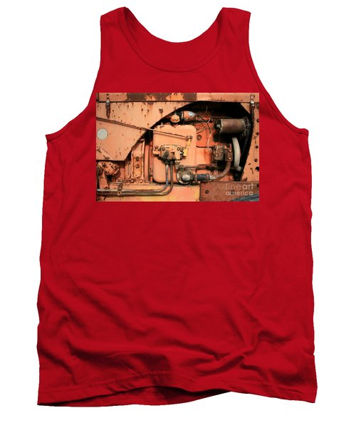 Tractor Engine V Tank Top by Stephen Mitchell