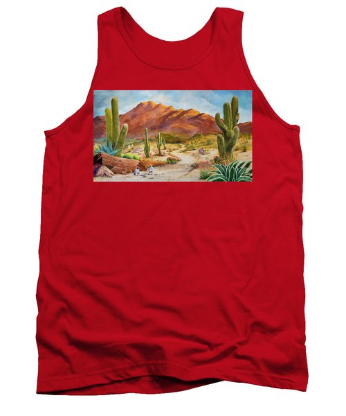 Trail To The San Tans Tank Top
