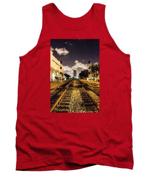Train Tracks Tank Top