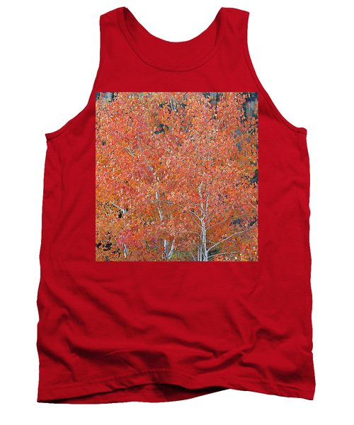 Translucent Aspen Orange Tank Top