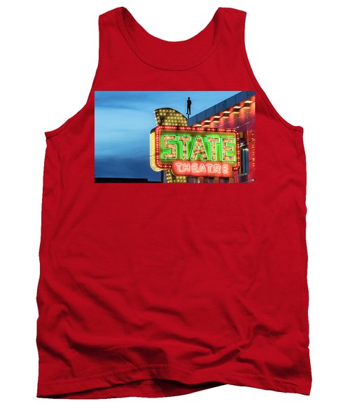 Traverse City State Theatre Tank Top