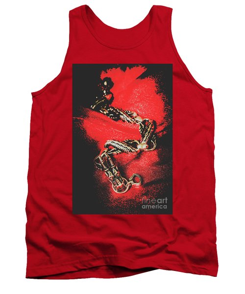 Treasures From The Asian Silk Road Tank Top