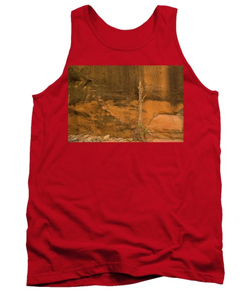 Tree And Sandstone Tank Top