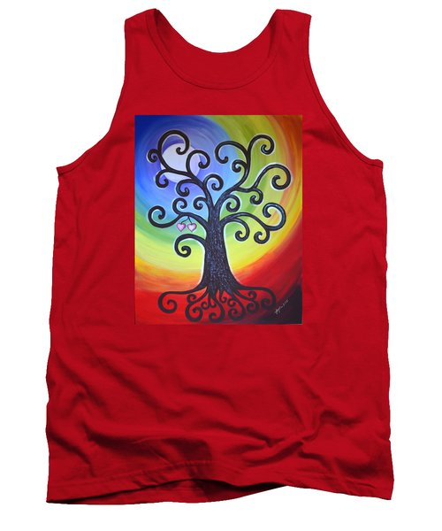 Tree Of Life Love And Togetherness Tank Top