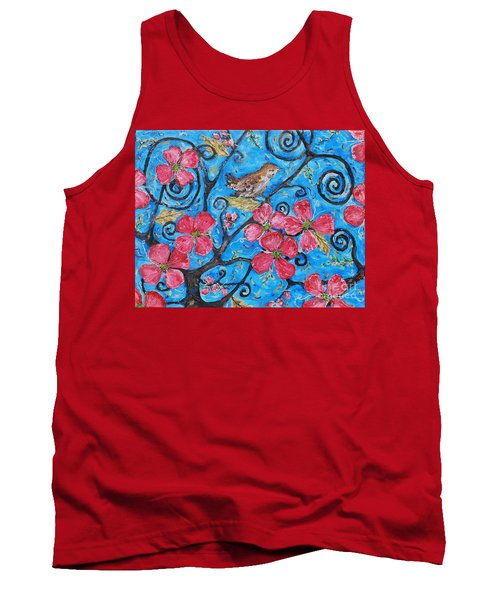 Tree Of Life Tank Top by Reina Resto