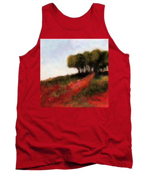 Trees On The Hill Tank Top