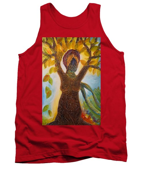 Tree Woman Tank Top