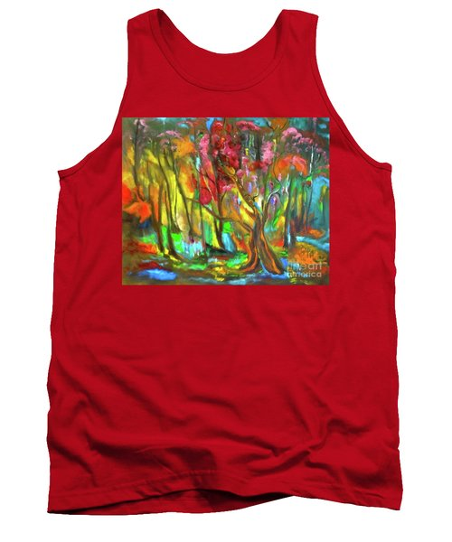Trees Tank Top by Jenny Lee